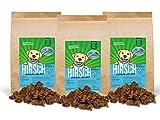 Sollis Hundesnacks 250g 3 Packungen | Hundeleckerlies aus 100% natürlichen Zutaten | Ohne Getreide | Ohne Zucker (Hirsch, 3x250g)