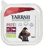 Yarrah Hund Pate, Rind, 12er Pack (12 x 150 g)