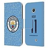 Head Case Designs Offiziell Zugelassen Manchester City Man City FC Janine Beckie 2020/21 Frauen Home Kit Gruppe 1 Leder Brieftaschen Handyhülle Hülle Huelle kompatibel mit Nokia Lumia 630
