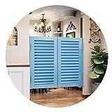 QIANDA Schwingtüren Cafe Türe, Louvered Scharniere Enthalten Automatisch Schließen Zum Innen Partition Eingang Dekoration, (Color : B, Size : 75x90cm)