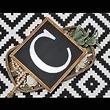 St234tyet Monogrammschild Galerie Wandschild Kinderzimmer Bauernhaus Dekor Initialenschild Buchstabenschild Kindergarten Dekor Familie Initialenschild Zahlenschild