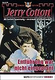Jerry Cotton Sonder-Edition - Folge 29: Entführung war nicht eingep