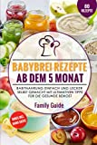 Babynahrung – Babybrei Rezepte ab dem 5. Monat: Babynahrung einfach und lecker selbst gemacht mit ultimativen Tipps für die gesunde Beikost