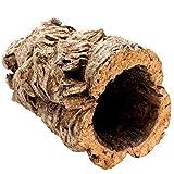 Tolle Korkröhre aus reiner Korkrinde, 20cm lang, 15cm hoch, ideal auch als Kork Terrarium Dek