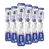 Oral-B Ultrathin Zahnfleisch-Schutz Silber Handzahnbürste Extraweich 6er Pack(6 x 1 Stück)