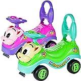 MalPlay Kinderfahrzeug | Gehfrei Spiel- und Lauflernwagen Lauflernhilfe Rutscherfahrzeug | Spielecenter für Babys Geburtstagsgeschenk | für drinnen und draußen