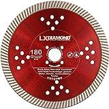 LXDIAMOND Diamant-Trennscheibe 180mm passend für Lamello Tanga Delta S2 Fensterfräse Trennfräsmaschine geeignet für Beton Granit Mauwerk ect. Montagefräse 180 mm