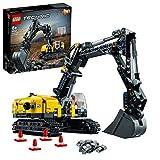 LEGO 42121 Technic Hydraulikbagger Bauset, 2-in-1 Modell, Baufahrzeug, Bagger Spielzeug ab 8 Jahren, Konstruktionsspielzeug
