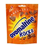 Ovomaltine Rocks - knusprige Ovomaltine Stücke mit Schokolade - Schoko-Snack aus Schweizer Vollmilch-Schokolade, nachhaltig und UTZ-zertifiziert (1 x 60g)