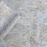 3D Tapete Stein Papier Stein Strukturierte Tapete Peel & Stick Selbstklebende Tapete Marmor Eingelegter Farbfaden Steintapete Druckpapier für Wanddekor Filmrolle