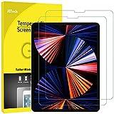 JETech 2 Stück Schutzfolie Kompatibel mit iPad Pro 12,9 Zoll Kante zu Kante Liquid Retina Display, Gehärtetem Glas Displayschutzfolie