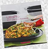Tupperware® Kleines Rezeptheft/Rezepte für UltraPro 2,0 L. und 3,5 L. deutsch Brot Brötchen Auflauf