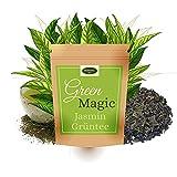 Grüner Tee | Jasmintee | aromatisiert mit Jasminblüten | Green Magic | lose 250g