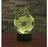 Beleuchtung Licht Illusion Lampe Weihnachts Nachtlicht Neben Tischlampe 3D Illusion lampe Wunderbares visuelles Erlebnis 16 Farbwechsel- und dimmbaren Funktionen herzerwärmendes Geschenk