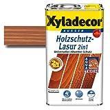 Xyladecor® Holzschutz-Lasur 2 in 1 Mahagoni 2,5 l | mit Aqua Tech - Extra-Schutz gegen Wasser | imprägnieren & schützen