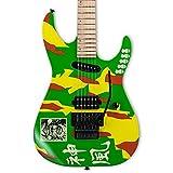 ESP LTD gl-kami4Signature Serie George Lynch E-Gitarre mit Tasche, kami-4Graphic