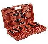 Redats Schlauchklemmenzange-Set 9 Teile, für Autokabel, im verschließbaren Koffer