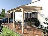 Terrassenüberdachung SYLT I Wintergarten 400 x 300 cm Überdachung T