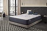 Naturalex | Perfectsleep | Matratze 140x200 cm | Memory und Blue Latex-Technologie Extra Komfort HR | Fester Halt mit Atmungsaktivem Schaumstoff | Ergonomisch Entspannend und Hypoallergen
