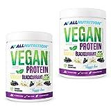 2x ALLNUTRITION Vegan Protein 500g | Vanille-Schwarze Johannisbeere | Whey Eiweißpulver Abnehmen | Nahrungsergänzungsmittel
