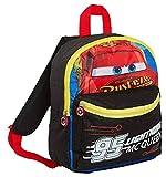 Sun City Disney Cars Lightning McQueen Kinder-Rucksack Kindergartentasche - 29x24x10 cm - schwarz