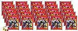 Panini Dragon Ball Super Sticker - Sammelsticker 25 x Stickertüten je 5 Sticker zusätzlich erhalten Sie 1 x Fruchtmix Sticker-und-co Bonbon