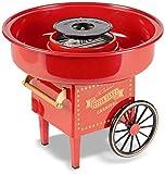 United Entertainment Cotton Candy Maker/Zuckerwattemaschine/Zuckerwatte Maschine - Kunststoff - Rot - ø 30 x 25 cm
