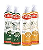 Bertolli Olivenöl Spray Set Olio Di Oliva Cucina 2x200ml + Olio Di Oliva Extra Vergine Originale 2x200ml