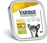 Yarrah Bio Hundefutter - Paté Huhn mit Meeresalgen - 150 g - 12er Pack
