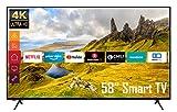 Telefunken XU58K521 58 Zoll Fernseher (Smart TV inkl. Prime Video/Netflix/YouTube, 4K UHD, HDR, HD+) [Modelljahr 2021]