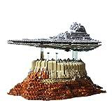 MMOC Technik Sternenzerstörer Modell Bausatz, Mould King 21007, 5162 Klemmbausteine UCS Super Star Destroyer MOC Bauset Kompatibel mit Lego