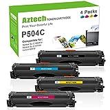 Aztech Kompatibel CLT-P504C Toner Cartridge Replacement für Samsung CLT-K504S CLT-C504S CLT-M504S CLT-Y504S Toner für Samsung Xpress C1860FW C1810W Toner Samsung CLX-4195FN CLX-4195FW CLP-415N 415NW
