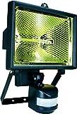 Smartwares ES400 Sicherheitsleuchte – Bewegungssensor – Halogen – 8850lm, Schwarz