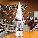 qiaoxiahe Handgemachte Wichtel Santa Dolls süße Schaufenster Rudolph der Wald Alter Mann Kinder Geburtstag Weihnachten Weihnachten Figur aus Weihnachtsfigur Dwarf schöneren Weihnachts Deko