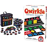 Schmidt Spiele 49270 Qwirkle Travel, Spiel des Jahres 2011 als Reisespiel, bunt & 51410 51410-Qwirkle, W