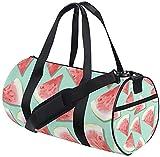 Sport Reisetasche Obst Wassermelone Training Reisetasche Runde Reisesporttaschen für Männer Frauen