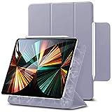Arktis iPad Pro Hülle, Smart Case kompatibel mit iPad Pro 12,9' (2021) [Sleep & Wake-Up-Funktion] Schutzhülle Smart Cover Case Lavendel