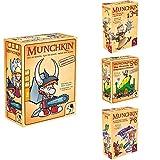 Pegasus Spiele 17222G - Munchkin 1+2 + 3+4 + 5+6 + 7+8