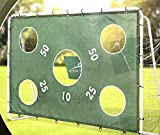 Active Touch Fußballtor mit Torwand und Netz Maße ca.: 240 x 170 x 85 cm