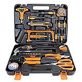 XIAOLINGTONG 45-teiliges Werkzeug-Set Heimwerker-Werkzeug-Set Aus Edelstahllegierung Heim-Handwerkzeug-Set Mit Tragbarem Aufbewahrungskoffer