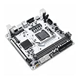 Newwiee Passend für H97 Motherboard Server Mainboard Gaming Motherboard LGA 1150 Unterstützung Intel Pentium/Core/Xeon Prozessor DDR3 16GB RAM M.2 Nvme WIFI Slot SATA3.0 USB 3.0 H97I-PLUS