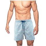 Badehose für Herren in vielen Farbe, Atmungsaktiv Wasserabweisend Badeshorts Männer Trainingsshorts Elastisch Verstellbar