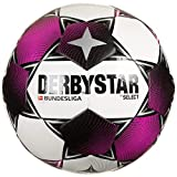 Derbystar Unisex Jugend Bundesliga Club TT Fußball, Weiss Magenta grau, 5