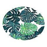 YWLINK Tropische PflanzenbläTter Modern Bettvorleger Sofa Matte GemüTliches Wohnzimmer Kinderzimmer Teppich 40
