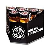 Eintracht Mispelchen 10x 0,02l | Apfellikör mit Mispel | Offizielles Lizenzprodukt der Eintracht Frankfurt Fußball AG | Frankfurter Original mit fruchtigem Geschmack | 20% Alc.