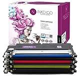 Druckertoner für Samsung CLP360 BCMY, 4 Farben, Schwarz, Rot, Blau, Gelb, bis zu 1500 Seiten