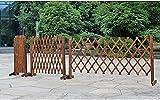 EIIDJFF Zaun Zierzaun Blumentopfhalter Gartenzaun Animal Barrier Garden Border Randdekoration Zäune für Indoor Outdoor Garden 529(Color:170x70cm)