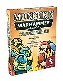 Pegasus Spiele 17017G - Munchkin Warhammer 40.000: Zorn und Zaub