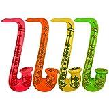 Aufblasbare Saxophone Gemischte Farben 75cm