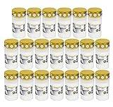 Beste Choice Grablicht Brenner Nr. 3 Weiss mit Deckel | Grabkerzen | Friedhofskerzen | Grablichtkerze | Trauerlicht | Gedenkkerze | Grabdekoration | Grabdeko (20er Pack)
